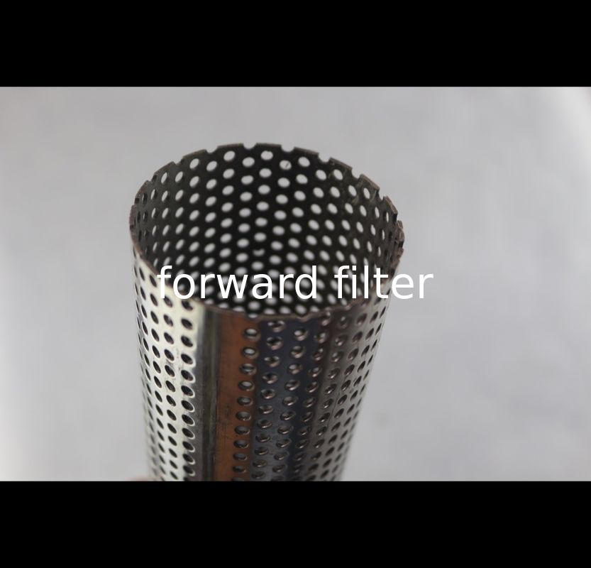 201 Perforated Stainless Steel Tube Spiral Welding Line Thickness 1mm - 50mm