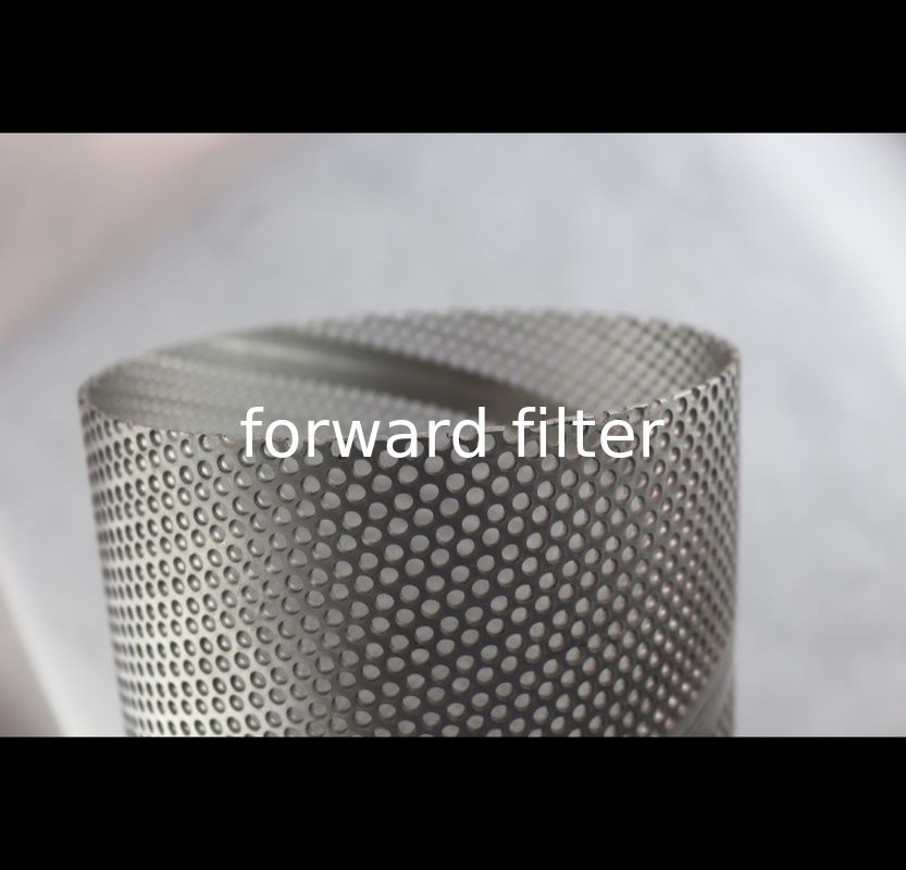 Round Square Perforated Muffler Tubing Stainless Steel With ISO9001 Approved