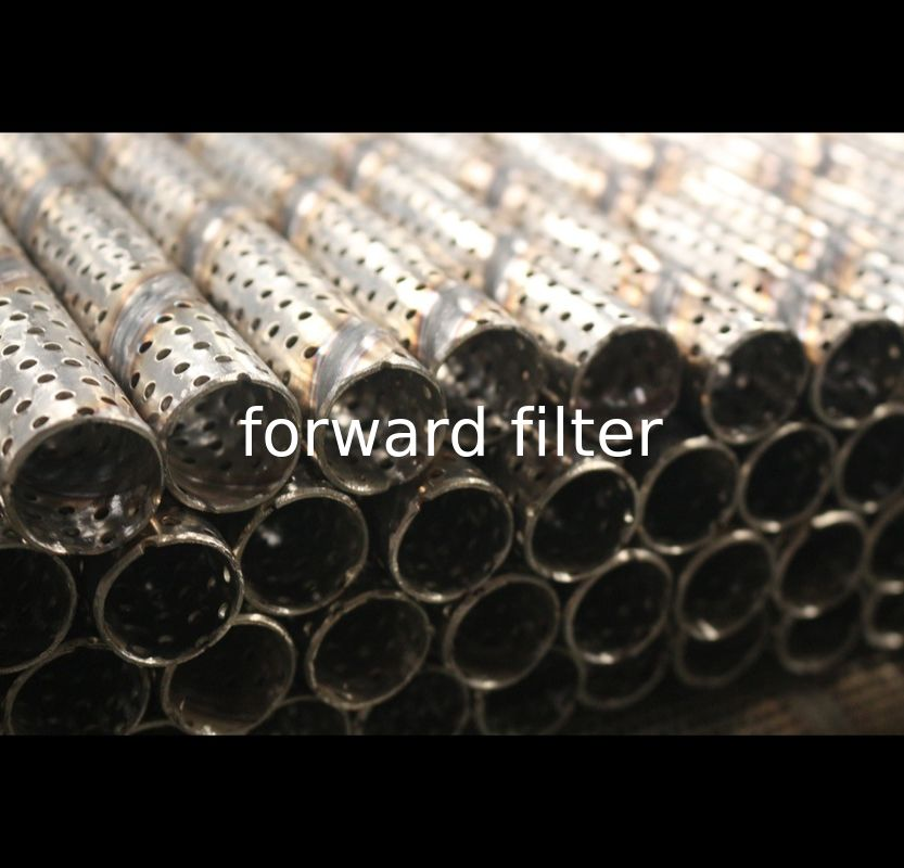 Custom Material Perforated Muffler Pipe , Industrial Perforated Stainless Steel Pipe