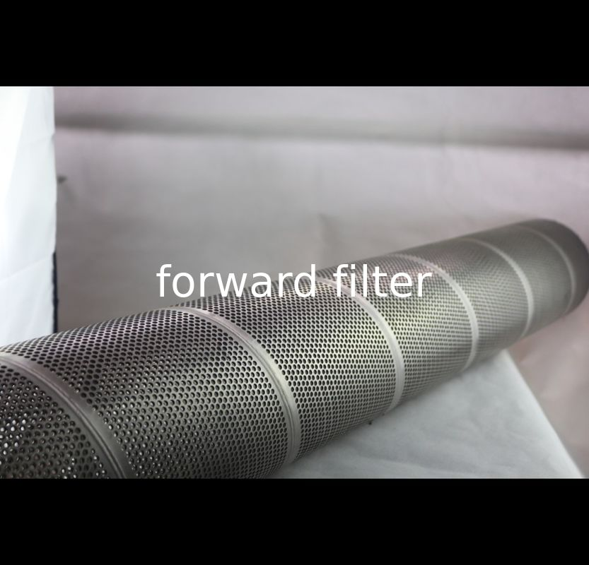 Automotive Perforated Stainless Steel Cylinder 200mm-800mm High Strength Structure