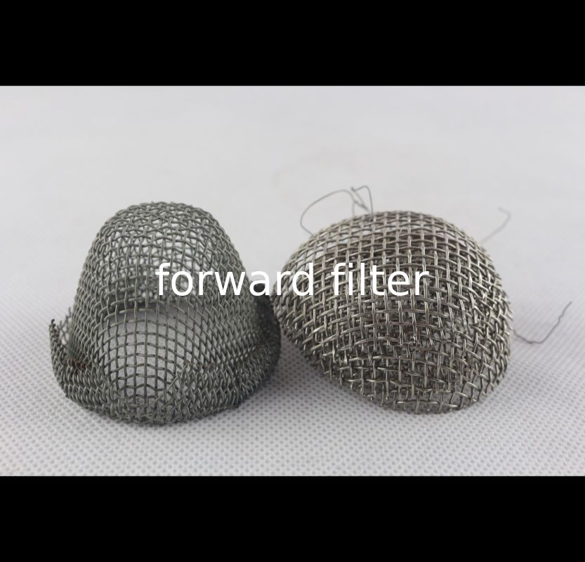 Water Filtration Stainless Steel Mesh Tube Filter 1mm - 30mm Perforated Metal Roll