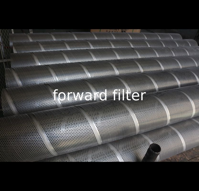 Seamless Petroleum Refining Filtration Tube Wire Mesh With ISO9001 Approved